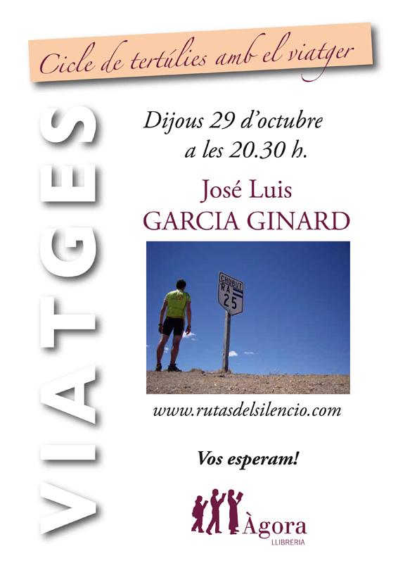 29_10_2009 - Poster VIAJEROS Jose´ Lusi Garci´a