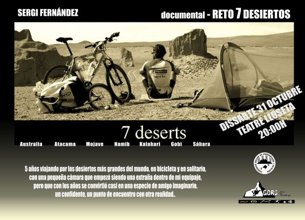 poster 7deserts
